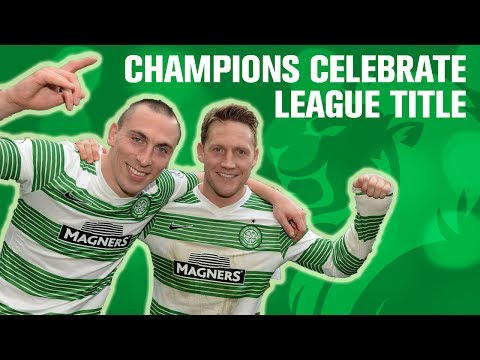Celtic bring title celebrations back to Celtic Park