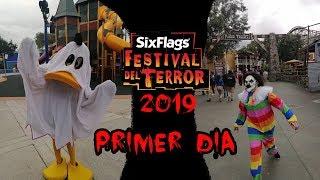 PRIMER DÍA DE FESTIVAL DEL TERROR 2019 | Vlog #1 Six Flags México