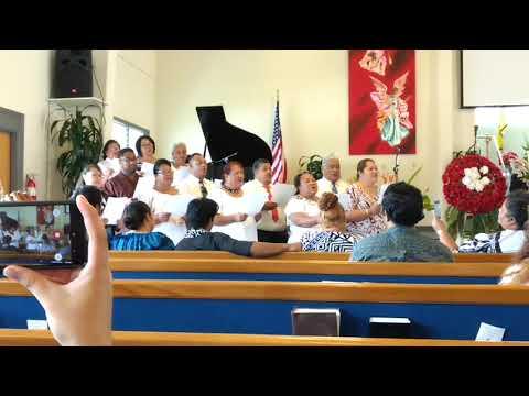 Samoan Choir during Seia Funeral service