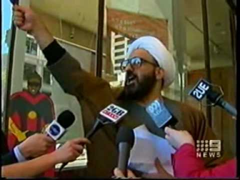 Sheik Haron loves Australia