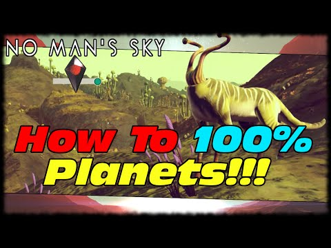 No Man's Sky 100% Planet Completion Guide! How To Analyze Flying Animals In No Man's Sky!