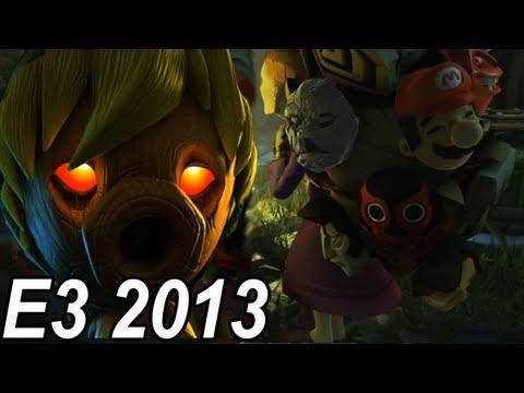 E3 2013 Trailers - Legend of Zelda Majora's Mask Wii U Trailer 【Remake-HD】