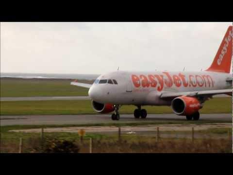 Windy Landings And Departures   Ronaldsway   Isle of man HD