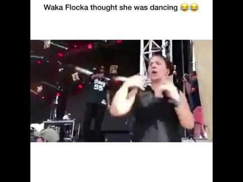 WAKA FLOCKA FLAME THINKS SIGN LANGUAGE TRANSLATOR IS DANCING!!!