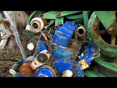 This Junked Diesel Engine Has One Crucial Rare Part | Vegas Rat Rods