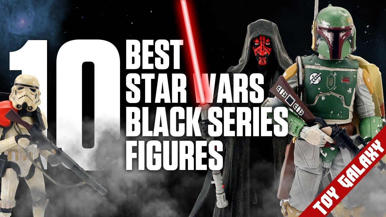 Top 10 Best Star Wars The Black Series Action Figures -9812