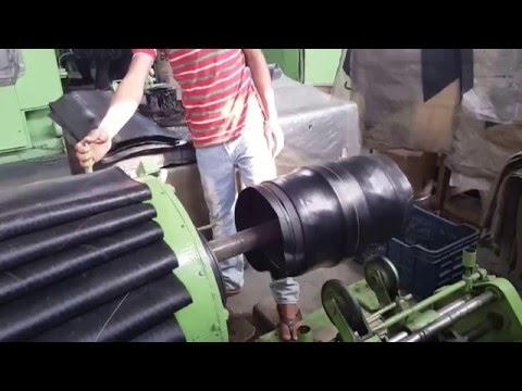 Semi-automatic Tire Building Machine.mp4