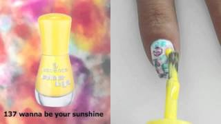 watercolour nailart Thumbnail