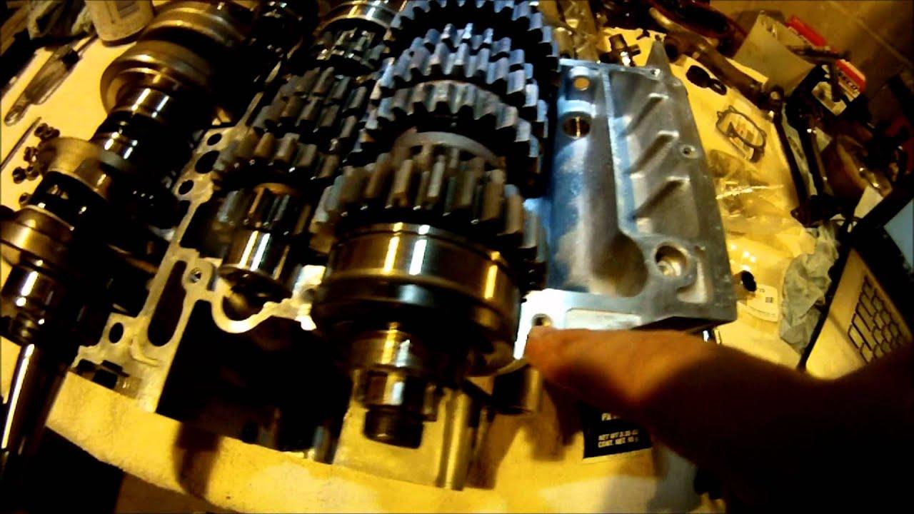Yamaha Banshee Bottom End Assembly Vid Part 1 of 5