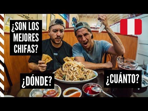 LOS MEJORES CHIFAS DE LIMA - Feat Cholo Mena - Vlog #55