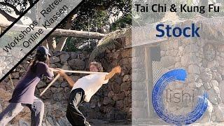 Tai Chi Taiji & Kung Fu Stock Stick Bo/Staff Online Workshop und Übungen