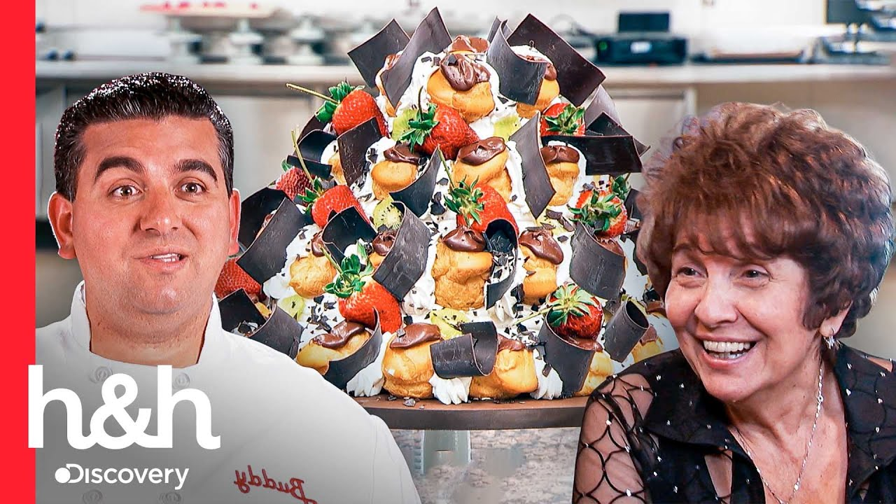 Download Buddy reinventa el pastel de profiteroles para los 65 de mamá | Cake Boss | Discovery H&H