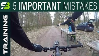 Avoid These 5 Beginner's Mistakes And Get Much Faster In Mountain Bike Races!