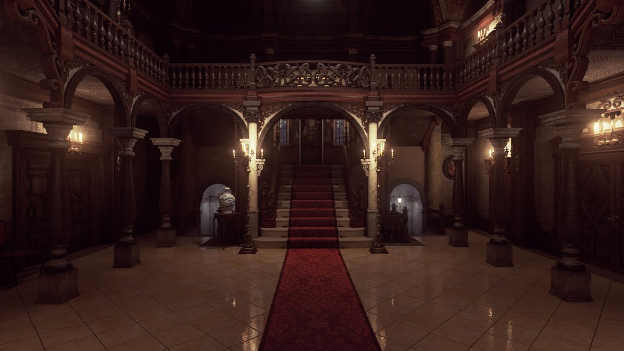 Resident Evil Remake Spencer Mansion recreated with Unreal Engine 4 -  YouTube