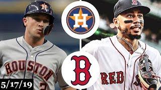 Houston Astros vs Boston Red Sox - Full Game Highlights | May 17, 2019 | 2019 MLB Season