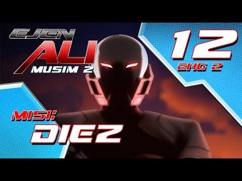 Ejen Ali Musim 2 (EP12) - Misi : Diez [Bahagian 2]