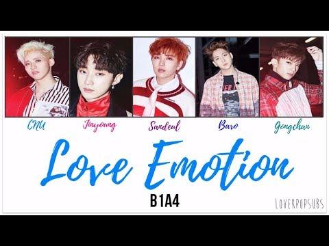 Free download Mp3 B1A4 - Love Emotion [English subs + Romanization + Hangul] HD terbaik