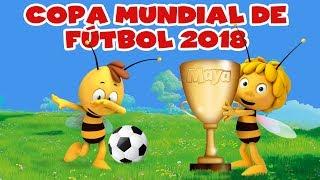 Maya participa en la Copa Mundial de Fútbol 🐝 ★★★★ FIFA 2018 🔴