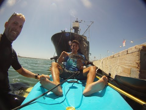 Fishing on my Birthday by Dana Point Bait Barge( ft.Doodle)