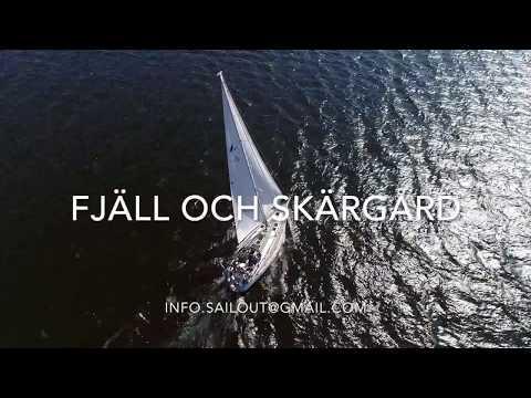 Sailing  in Stockholm Archipelago Sweden
