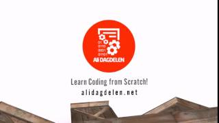 Ali DAGDELEN Coding Tutorials