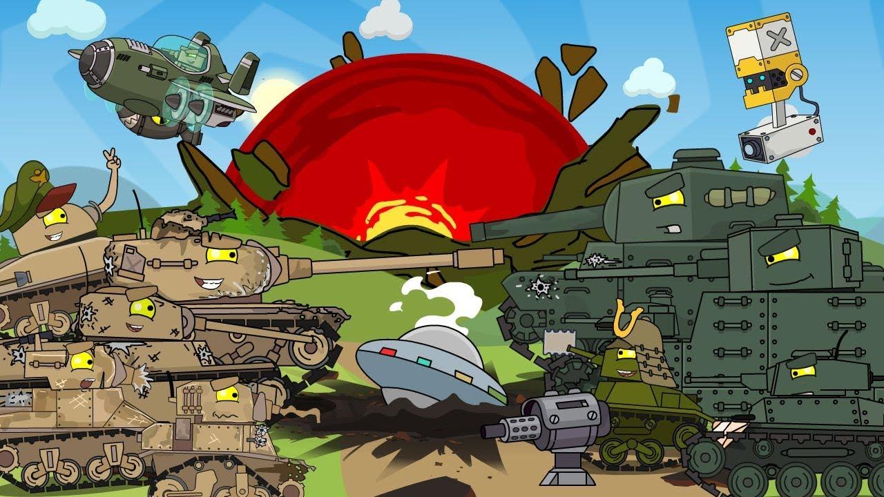 Второй сезон - Противостояние США и Японии / Мультики про танки