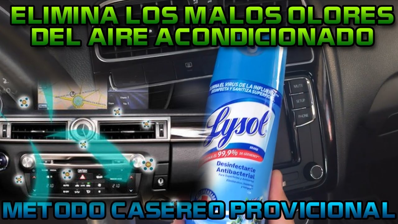 Eliminar mal olor de aire acondicionado tip casero youtube for Mal olor aire acondicionado