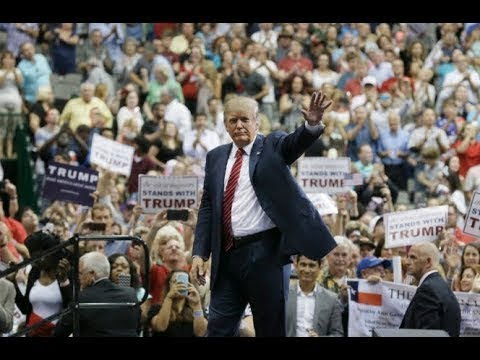 President Donald Trump holds GIGANTIC Rally in Fargo North Dakota