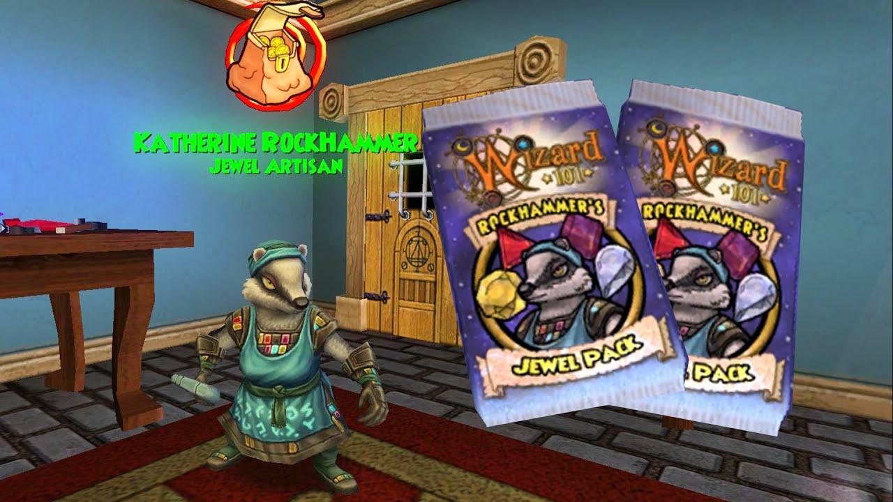 Wizard101: NEW Rockhammer's Jewel Pack!!