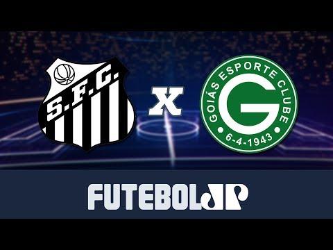 Santos 6 x 1 Goiás - 04/08/19 - Brasileirão