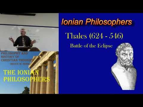 2. The Ionian Philosophers