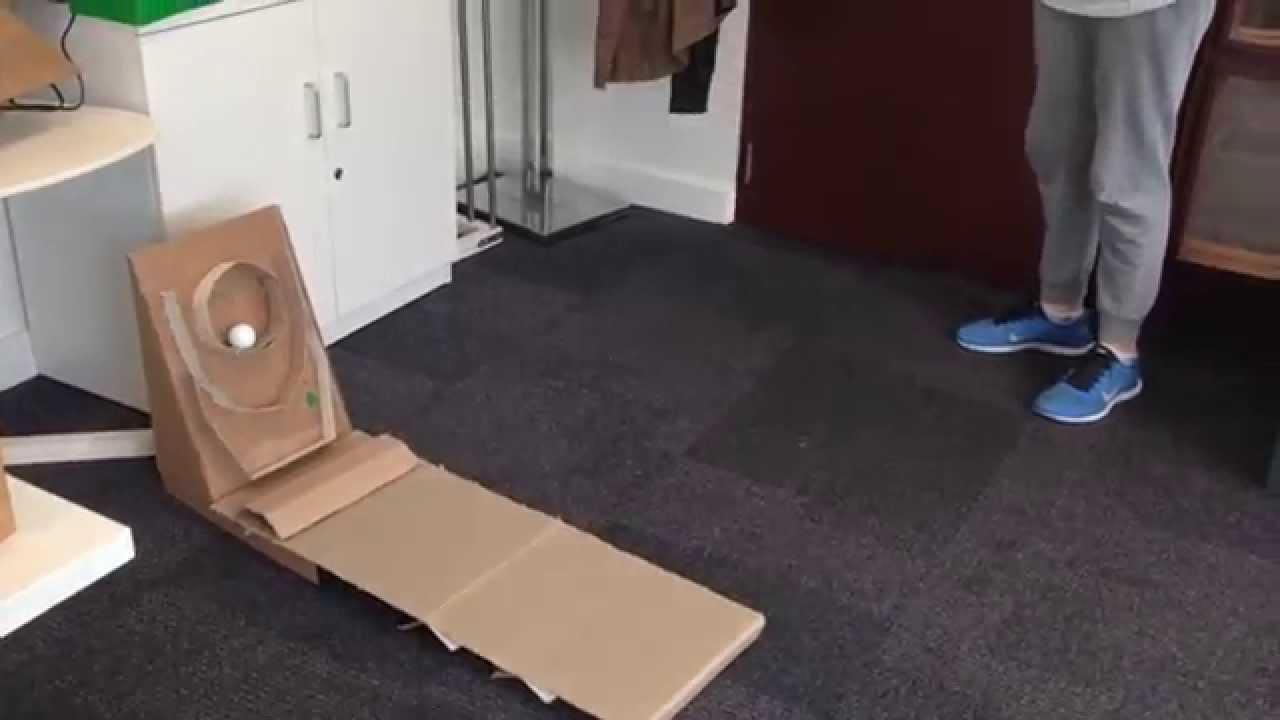 Homemade Skee Ball Cardboard Homemade Ftempo