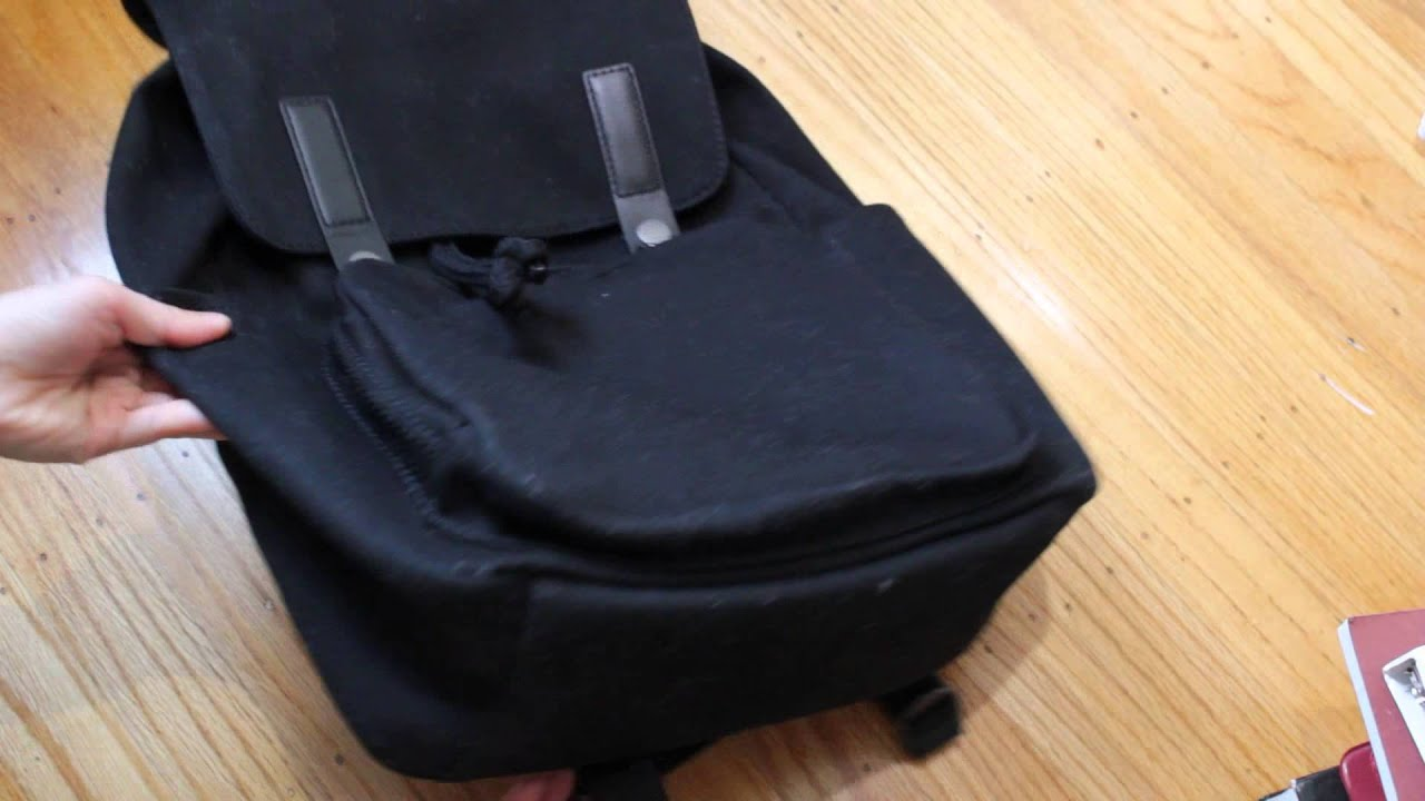 Everlane  The Modern Snap Backpack (Review) - YouTube 5df6b95f50901