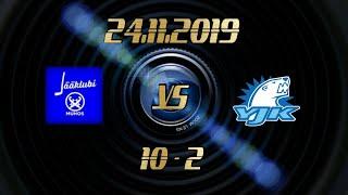24.11.2019 MuJK vs YJK (10-2)