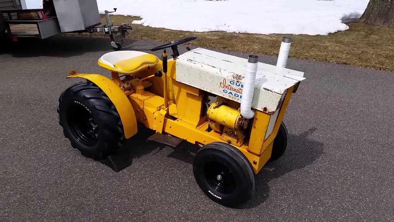 Old Cub Cadet Mowers : Cub cadet garden tractors joseph j nemes sons