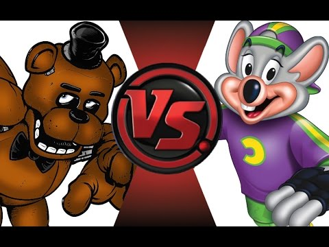 FREDDY FAZBEAR vs CHUCK E CHEESE! Cartoon Fight Club Episode 22