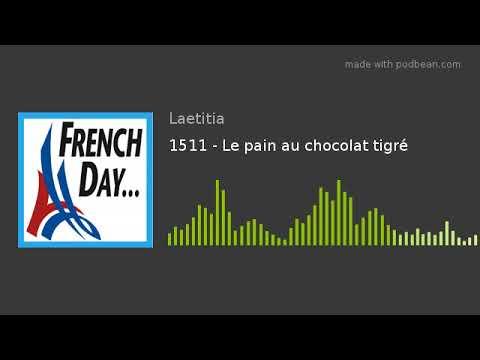 1511 - Le pain au chocolat tigré