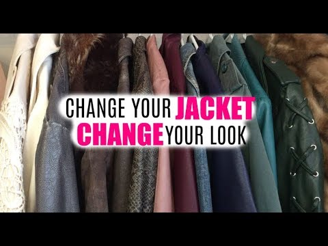 Use a Jacket to Change Your Look