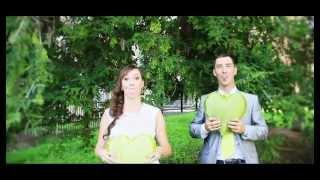 Жених и невеста  поют песню!