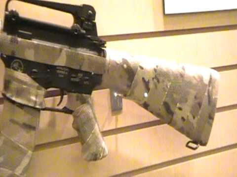 Camo Form At SHOT Show 2012 - YouTube