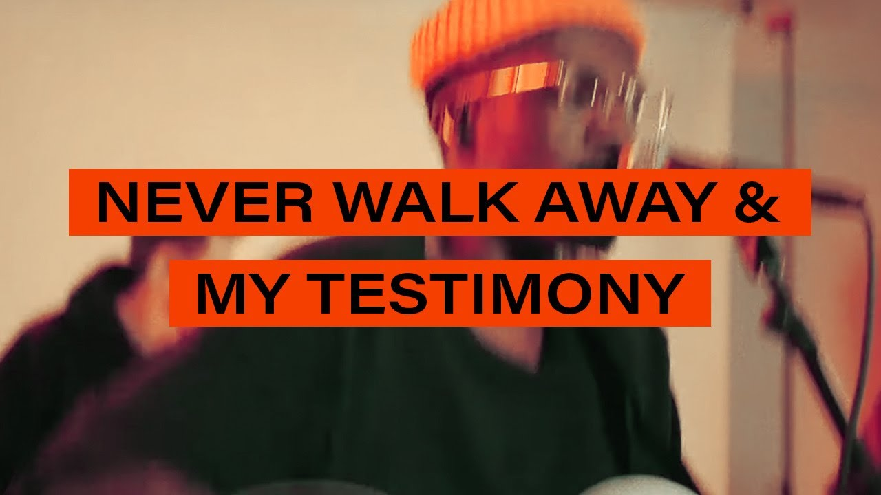 NEVER WALK AWAY & MY TESTIMONY LIVE FROM RHYTHM NIGHT - ELEVATION RHYTHM