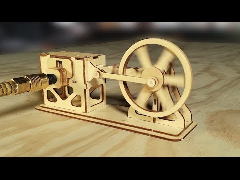 How a Steam Engine works (Fully Animated)