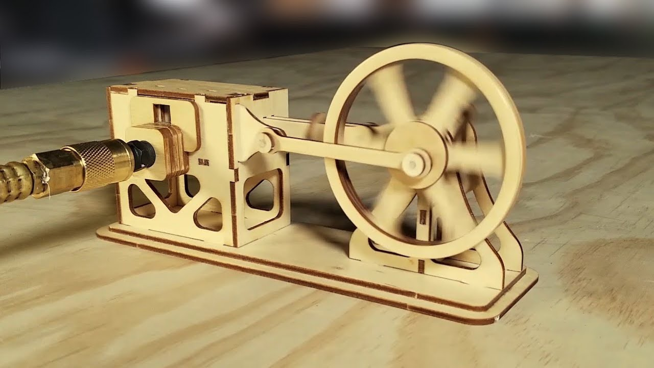steam engine works fully animated youtube