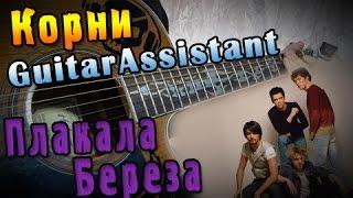 Корни - Плакала береза (Урок под гитару)