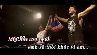 Để cho anh khóc Remix Karaoke HongKong - Lê Bảo Bình BEAT