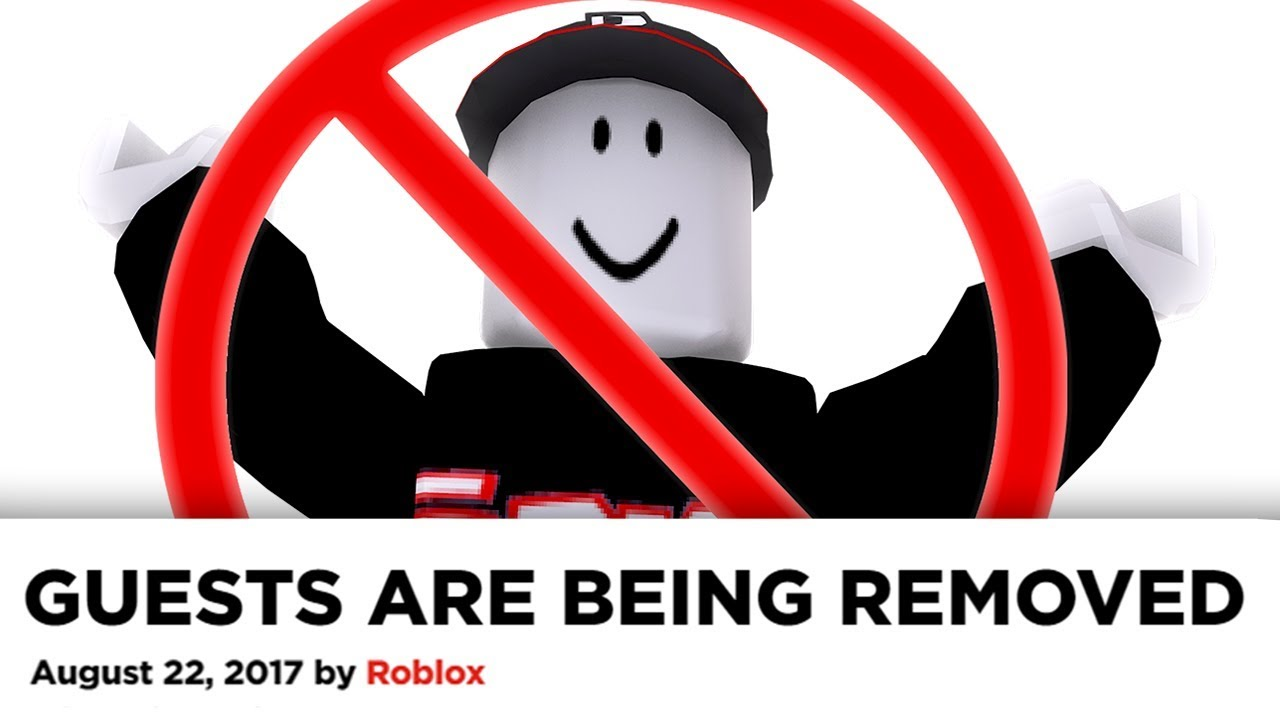 All Roblox Guests Are Being Removed Forever Sad Youtube