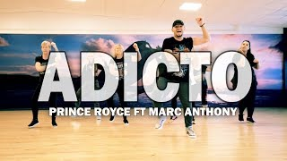 ADICTO - Prince Royce ft Marc Anthony | Zumba Fitness Choreo