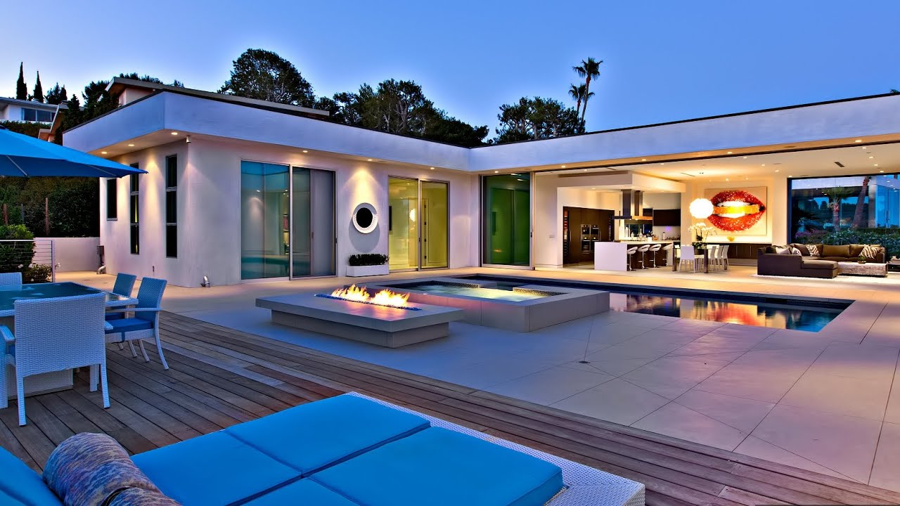 sensational modern contemporary luxury home in beverly hills ca usa youtube - Contemporary Luxury Homes