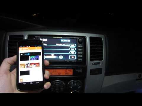 Bluetooth Audio Toyota E7008 Navigation