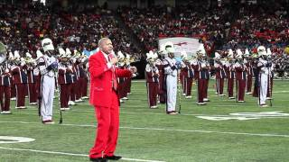 CROWD GOES CRAZY WHEN SCSU BAND BRINGS OUT LENNY WILLIAMS TO PERFORM CAUSE I LOVE YOU